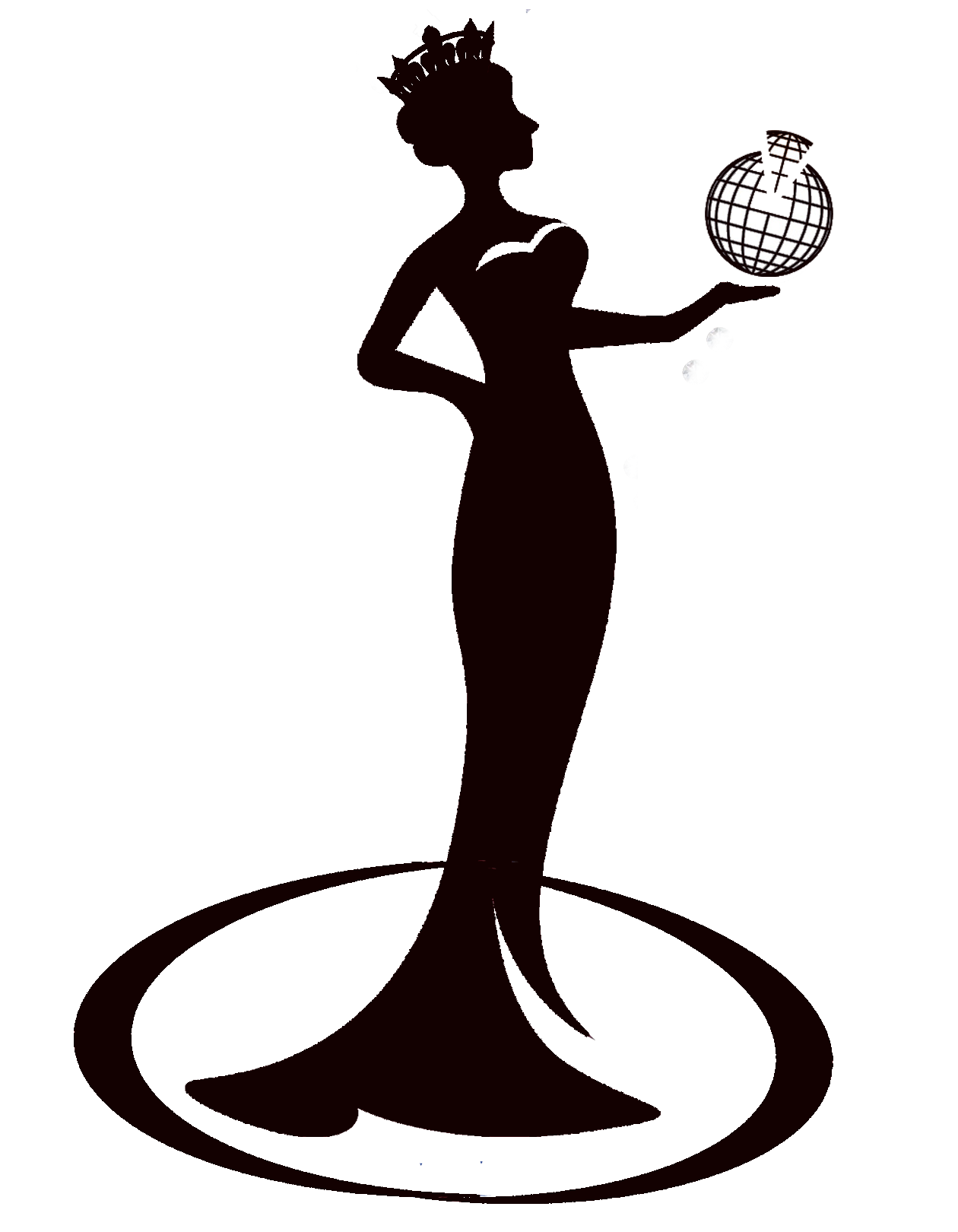 the gallery for gt beauty queen silhouette png